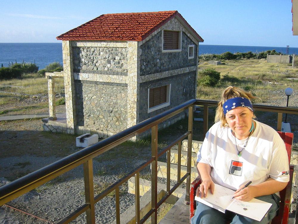 Cheryl Harrison Artist, Cuba, Cheryl Harrison artist, sketchbook, drawing, travel, notebook, journal,