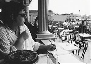 Cheryl Harrison Artist, Marrakesh Square, Morocco, Cheryl Harrison artist, sketchbook, drawing, travel, notebook, journal,