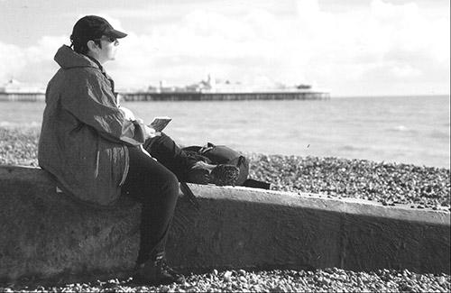 Brighton, Brighton Beach uk, Cheryl Harrison artist, sketchbook, drawing, travel, notebook, journal,