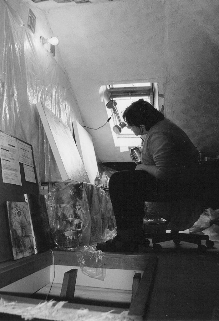 Cheryl Harrison Artist, Cheryl Harrison studio, Cheryl Harrison painter, London Artist Studio, London Artist, artist studio London, Art in London UK,