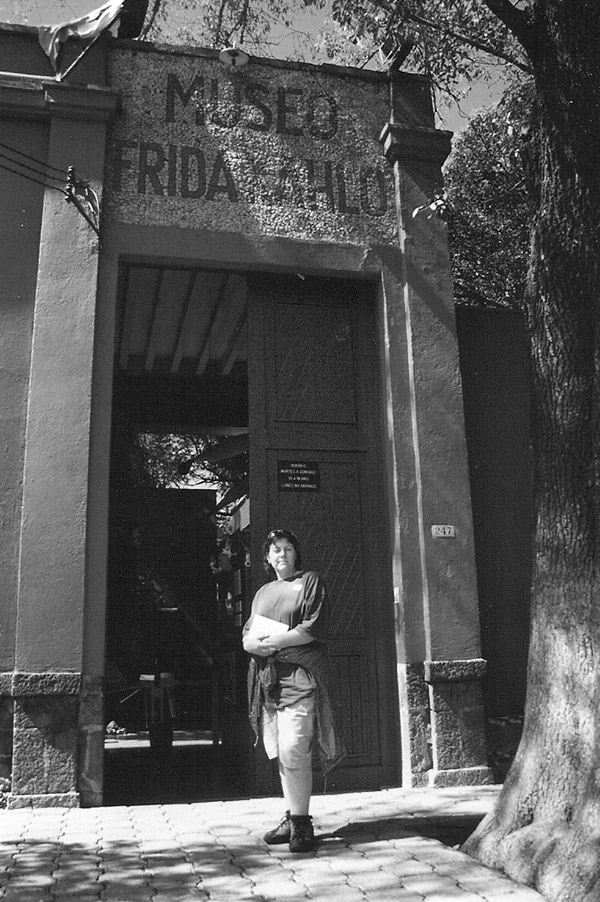 Frida Kahlo Museum, Frida Kahlo, Mexico, women artists, female artists, sketchbook, drawing, travel, notebook, journal,